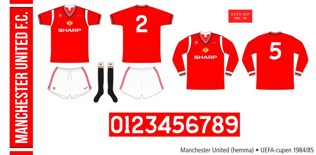 Manchester United 1984/85 (hemma, UEFA-cupen)