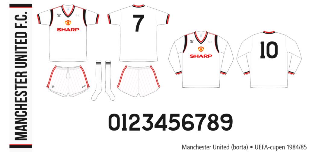 Manchester United 1984/85 (borta, UEFA-cupen)