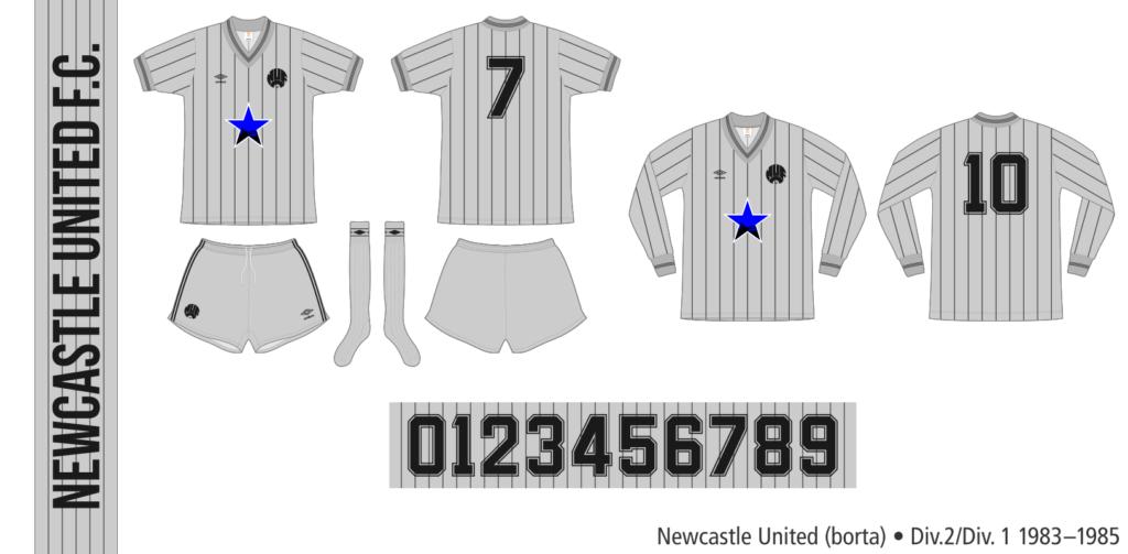 Newcastle United 1983–1985 (borta)