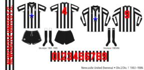 Newcastle United 1983–1986 (hemma)