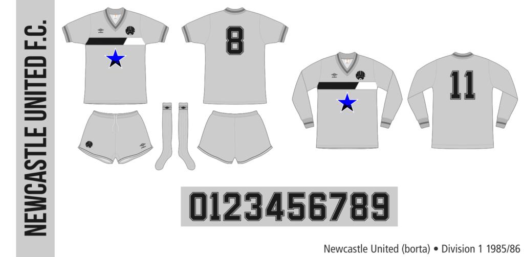 Newcastle United 1985/86 (borta)