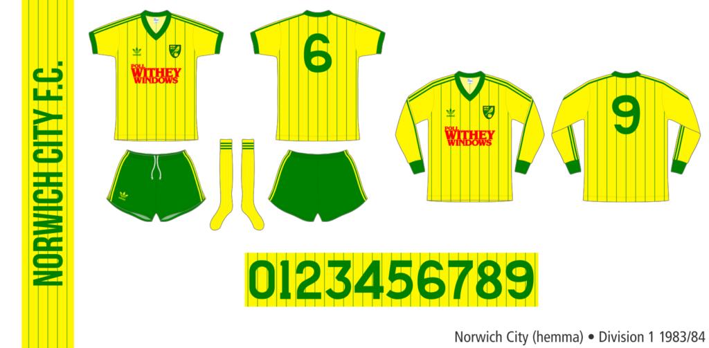 Norwich City 1983/84 (hemma)