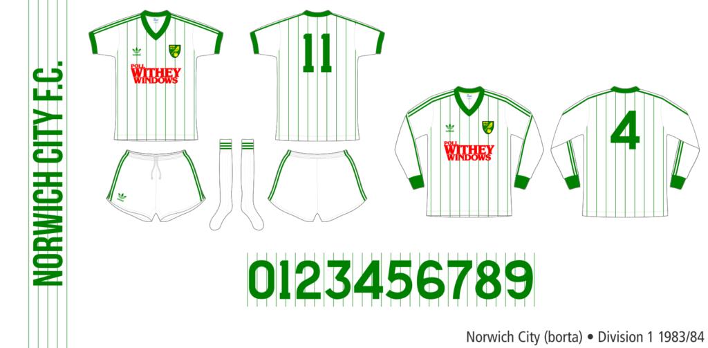 Norwich City 1983/84 (borta)