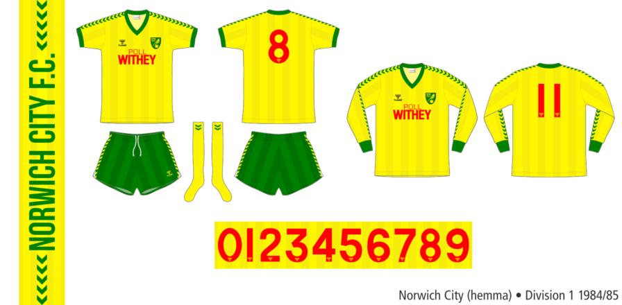 Norwich City 1984/85 (hemma)
