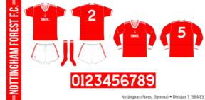 Nottingham Forest 1984/85 (hemma)