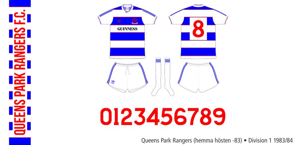 Queens Park Rangers 1983/84 (hemma hösten -83)