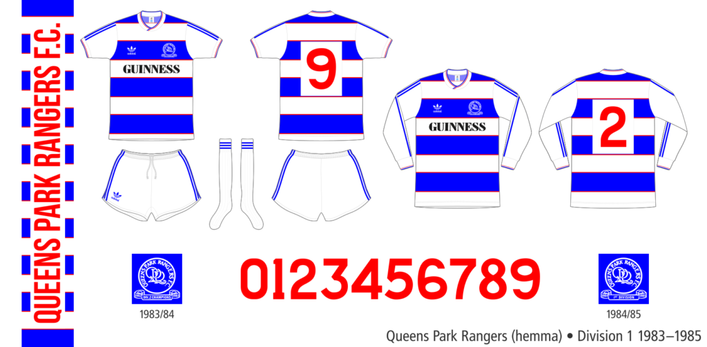 Queens Park Rangers 1983–1985 (hemma)