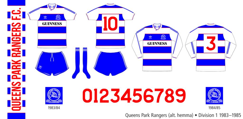 Queens Park Rangers 1983–1985 (alternativ hemma)