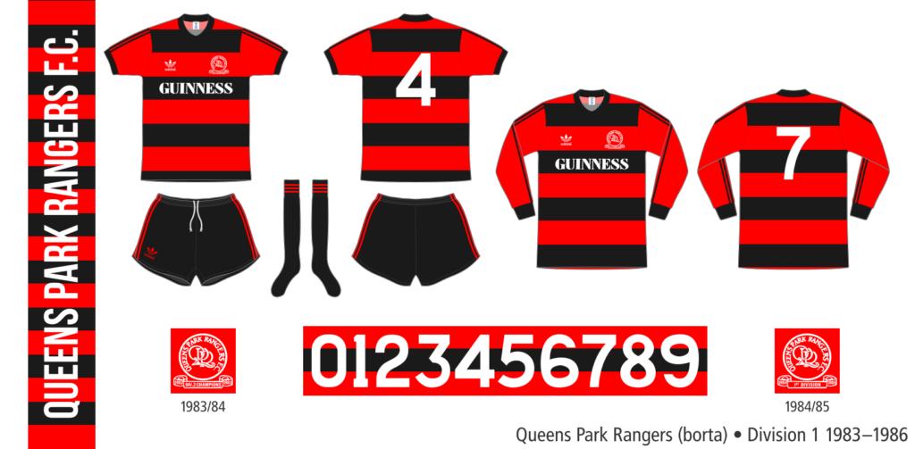 Queens Park Rangers 1983–1986 (borta)