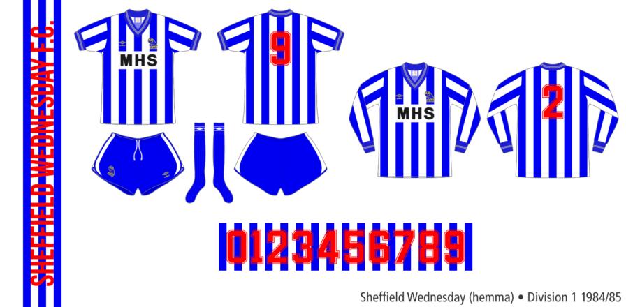 Sheffield Wednesday 1984/85 (hemma)