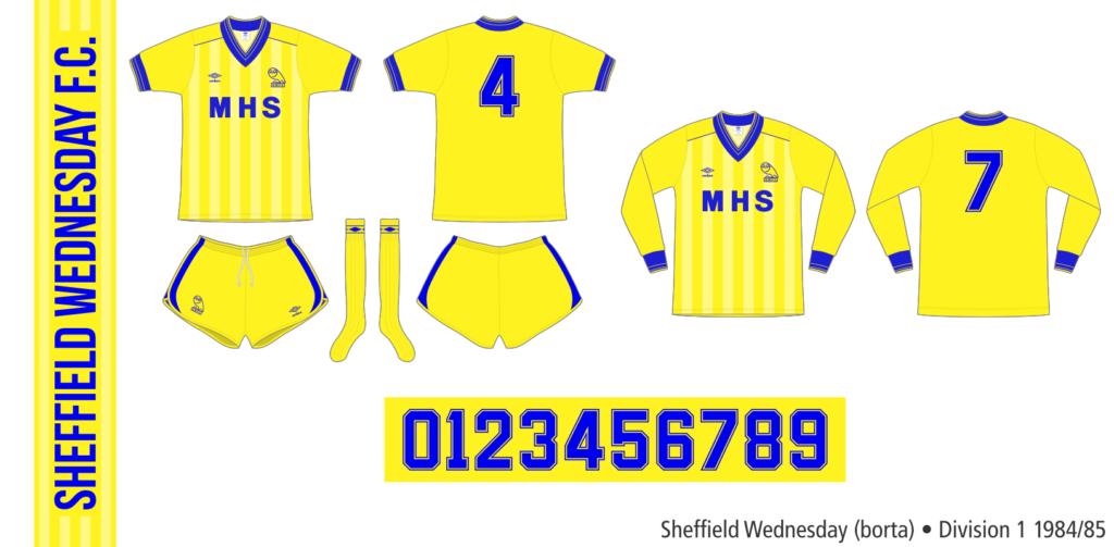 Sheffield Wednesday 1984/85 (borta)