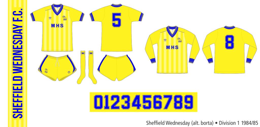 Sheffield Wednesday 1984/85 (alternativ borta)