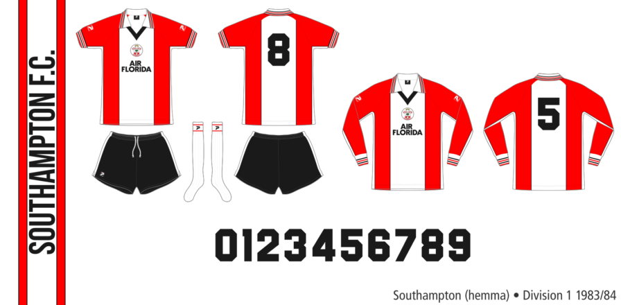 Southampton 1983/84 (hemma)