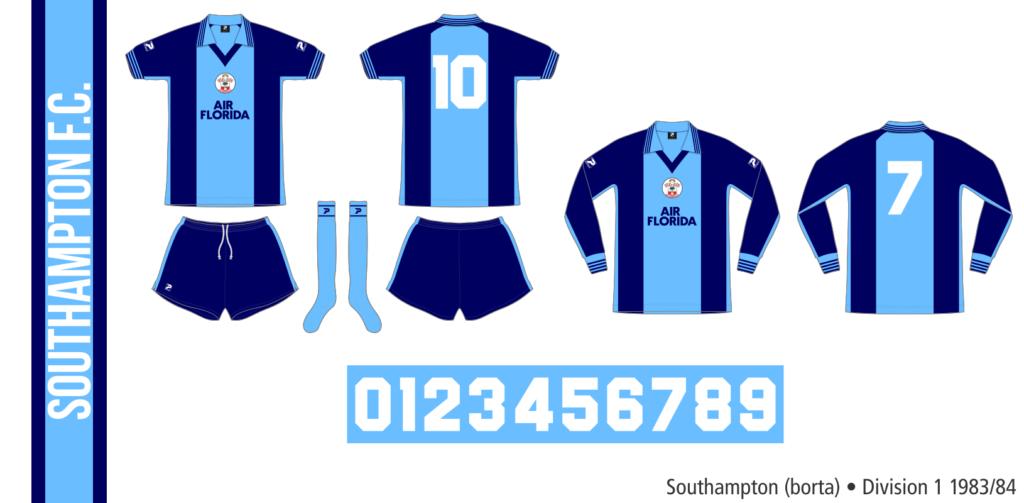 Southampton 1983/84 (borta)
