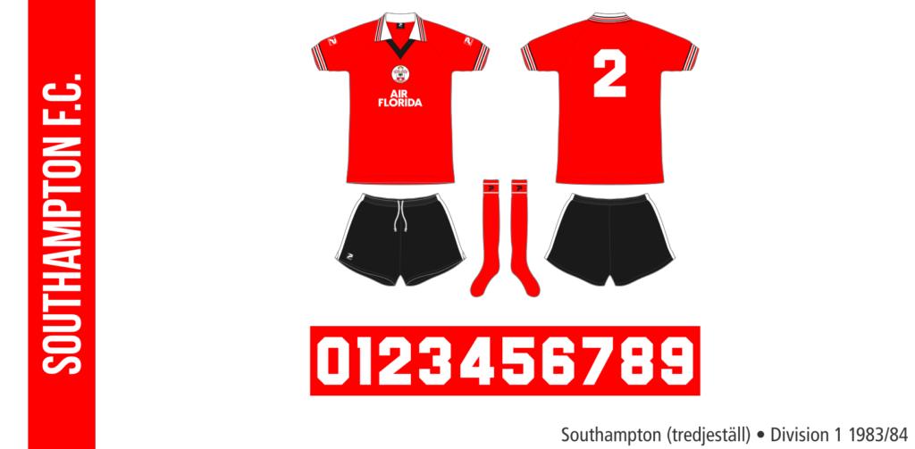 Southampton 1983/84 (tredjeställ)