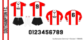 Southampton 1984/85 (hemma)