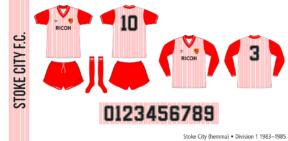 Stoke City 1983–1985 (hemma)