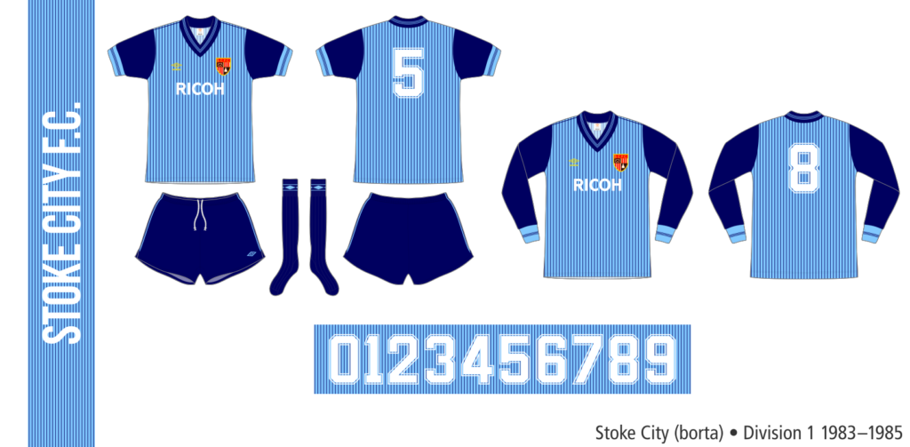 Stoke City 1983–1985 (borta)