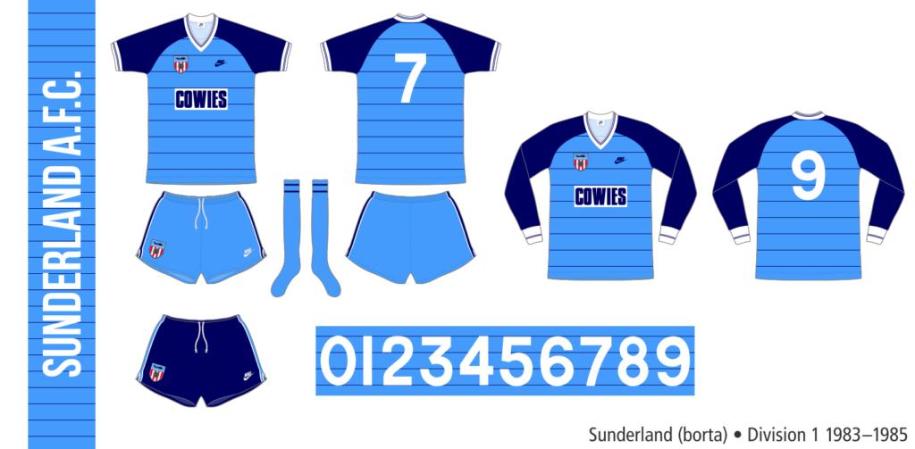 Sunderland 1983–1985 (borta)
