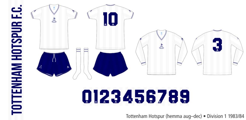 Tottenham Hotspur 1983/84 (hemma augusti–december)