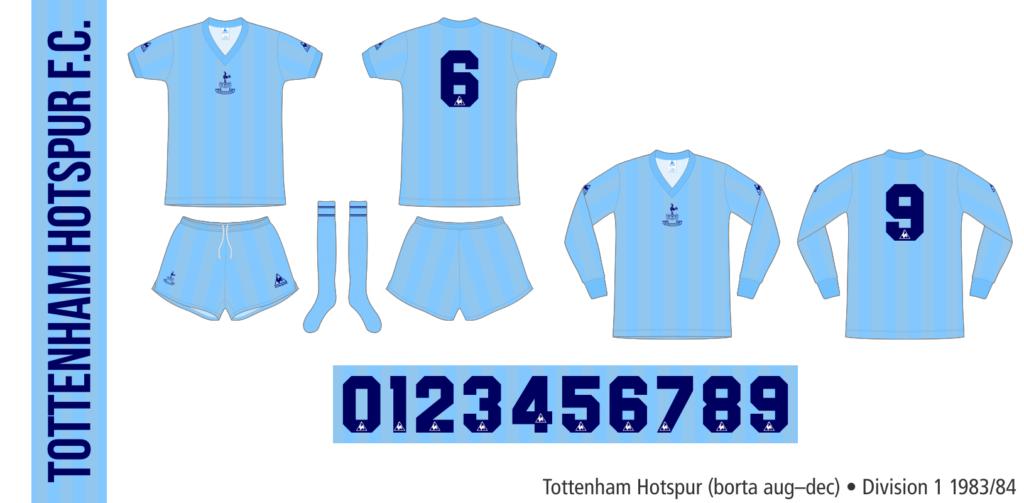 Tottenham Hotspur 1983/84 (borta augusti–december)