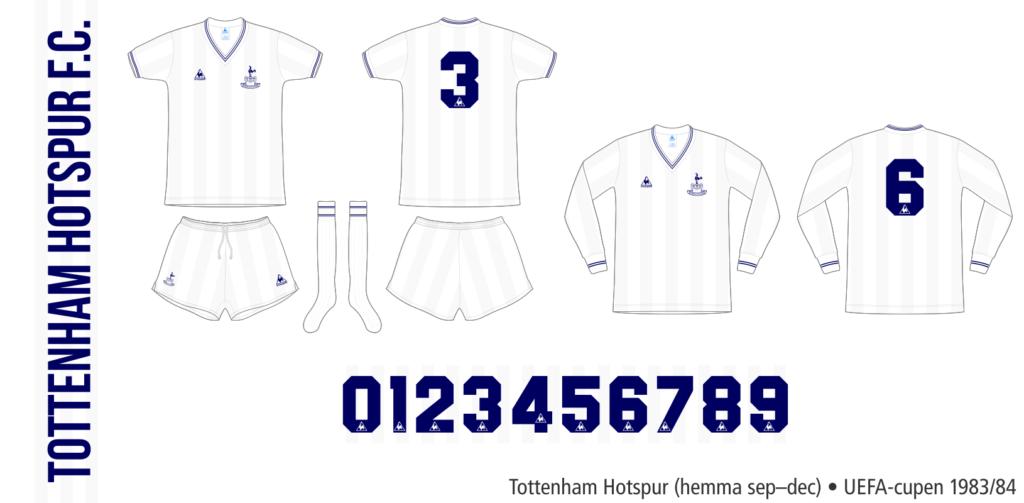 Tottenham Hotspur 1983/84 (UEFA-cupen hemma september–december)