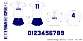 Tottenham Hotspur 1983–1985 (hemma)