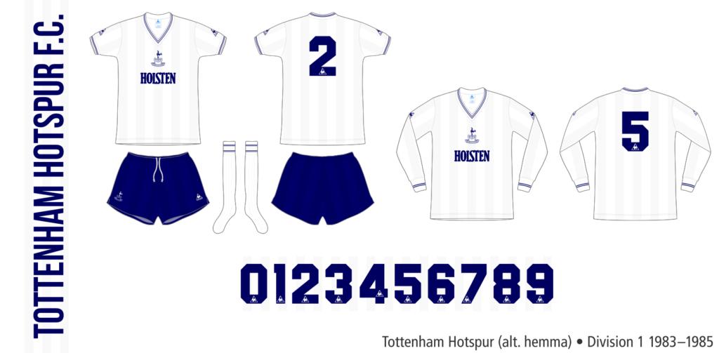 Tottenham Hotspur 1983–1985 (alternativ hemma)