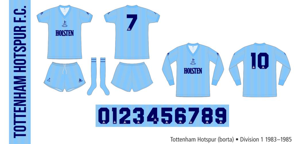 Tottenham Hotspur 1983–1985 (borta)