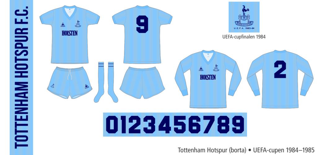 Tottenham Hotspur 1984–1985 (borta UEFA-cupen)