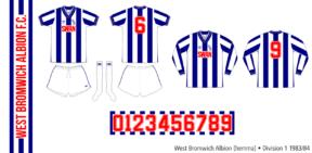 West Bromwich Albion 1983/84 (hemma)