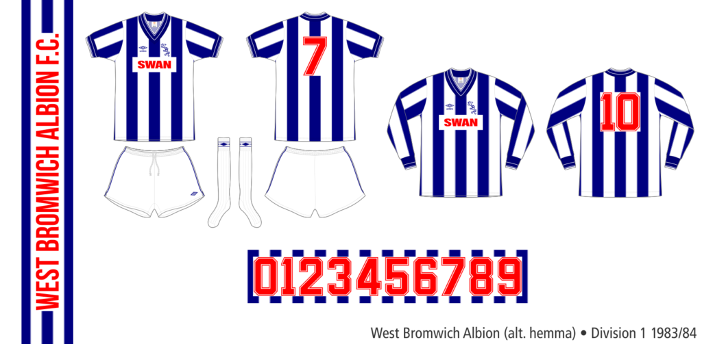 West Bromwich Albion 1983/84 (alternativ hemma)
