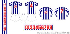 West Bromwich Albion 1984–1986 (hemma)