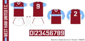 West Ham United 1983/84 (hemma)