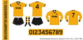 Wolverhampton Wanderers 1983–1985 (hemma)