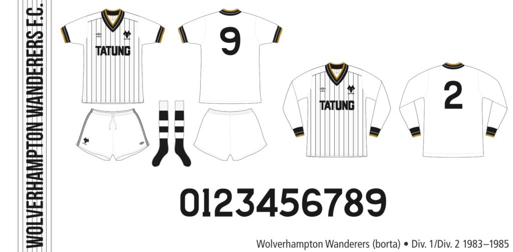 Wolverhampton Wanderers 1983–1985 (borta)