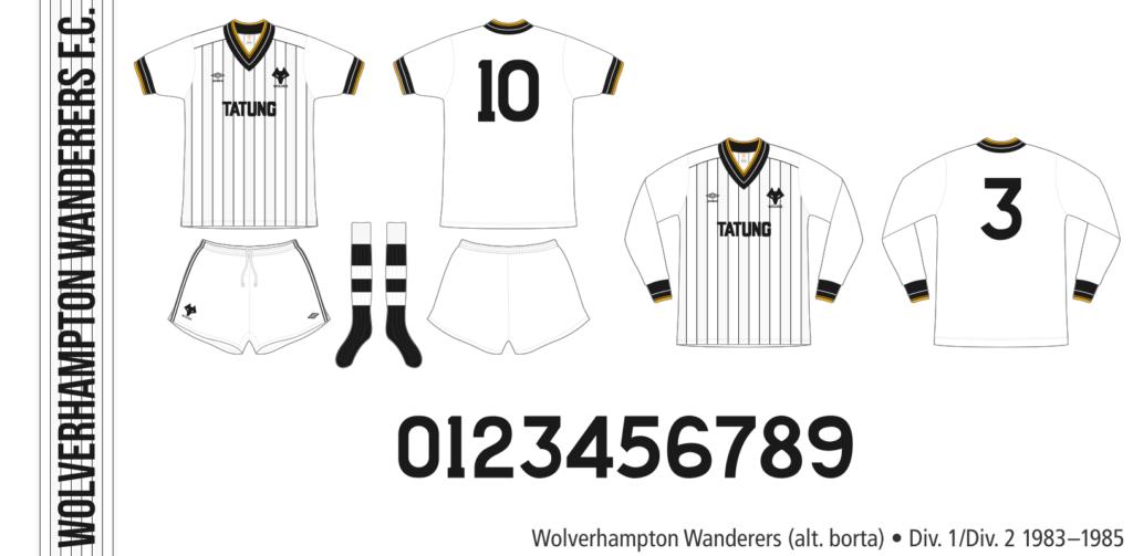 Wolverhampton Wanderers 1983–1985 (alternativ borta)