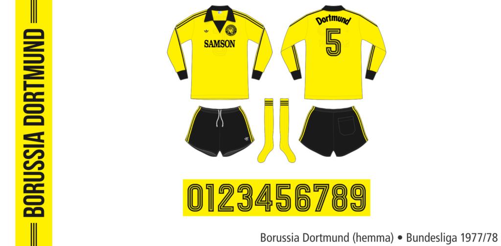 Borussia Dortmund 1977/78 (hemma)