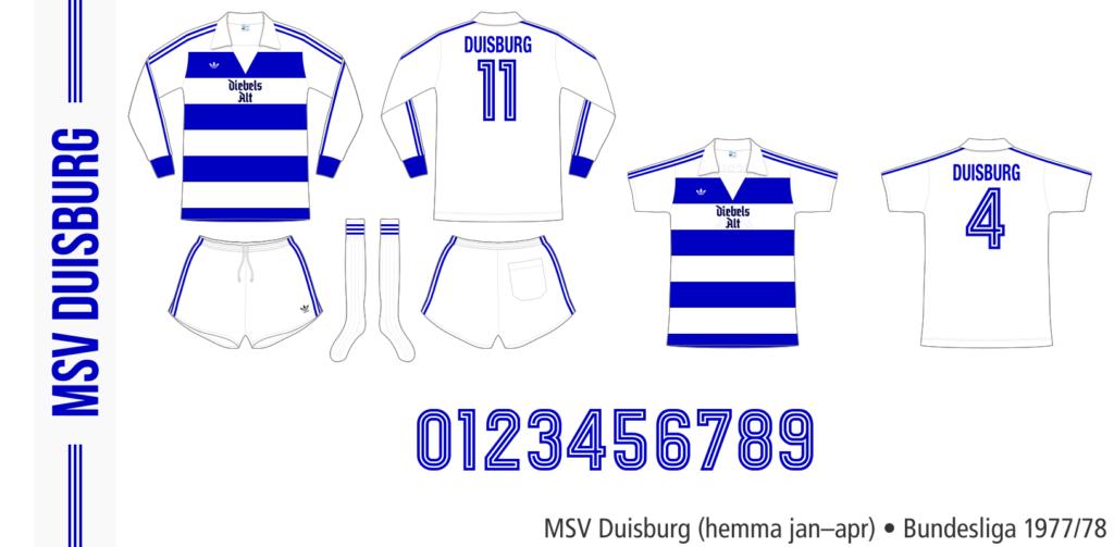 MSV Duisburg 1977/78 (hemma jan–apr)