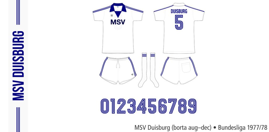 MSV Duisburg 1977/78 (borta aug–dec)