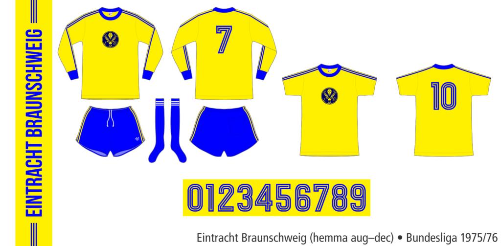 Eintracht Braunschweig 1975/76 (hemma aug–dec)