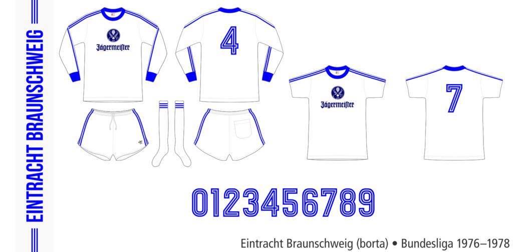 Eintracht Braunschweig 1976–1978 (borta)