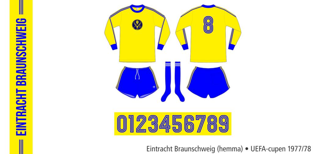 Eintracht Braunschweig 1977/78 (hemma UEFA-cupen)