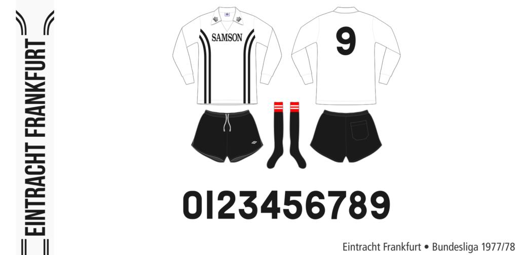 Eintracht Frankfurt 1977/78 (vit Admiral)