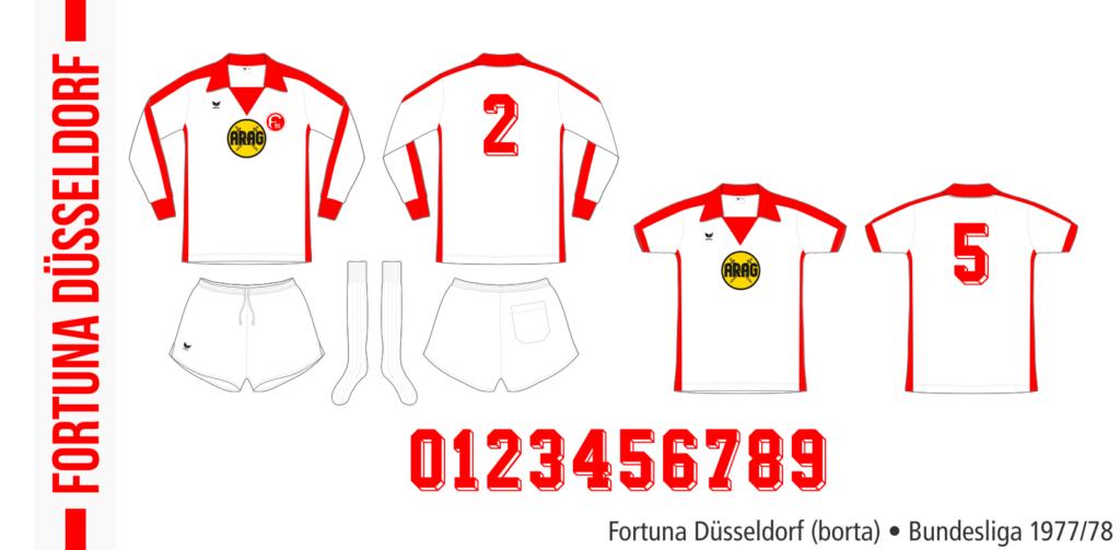 Fortuna Düsseldorf 1977/78 (borta)