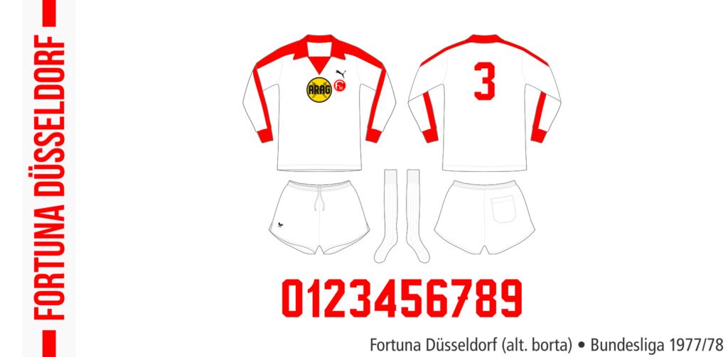 Fortuna Düsseldorf 1977/78 (alternativ borta)