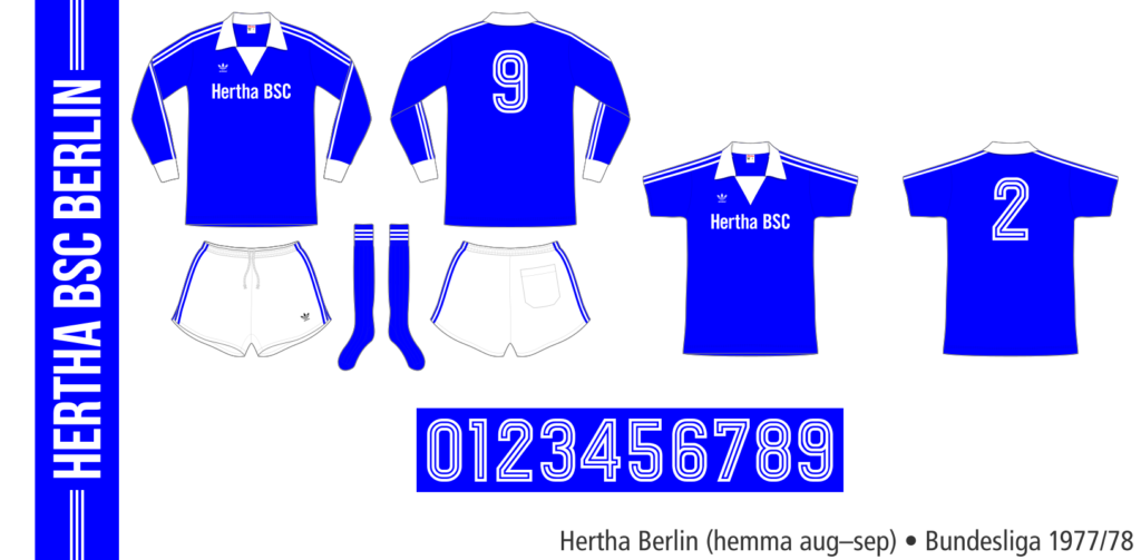 Hertha Berlin 1977/78 (hemma aug–sep)