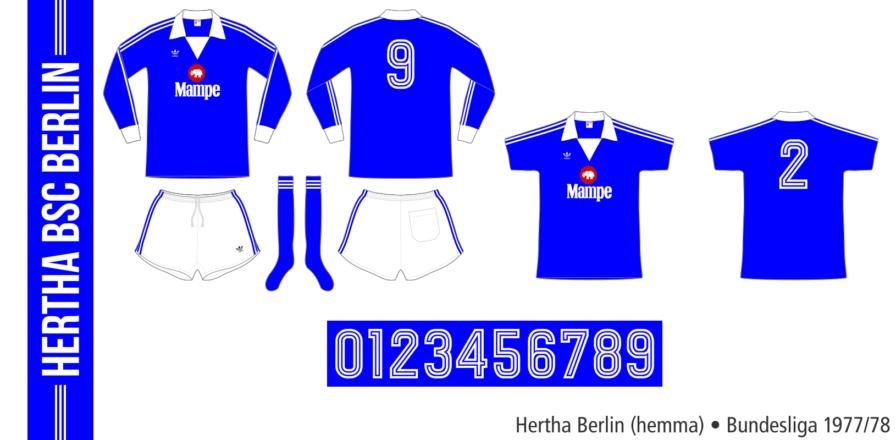 Hertha Berlin 1977/78 (hemma)