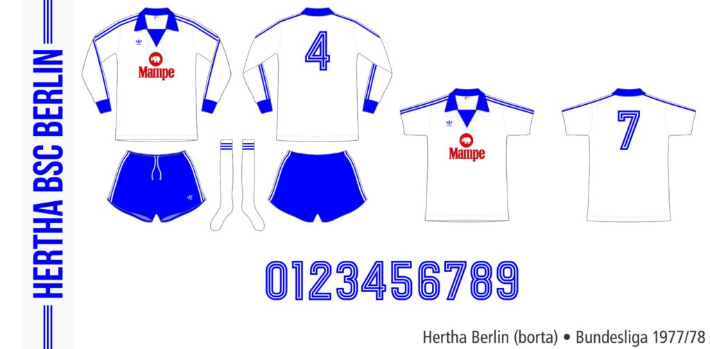 Hertha Berlin 1977/78 (borta)