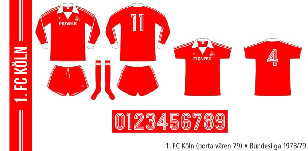 1. FC Köln 1978/79 (borta våren 79)